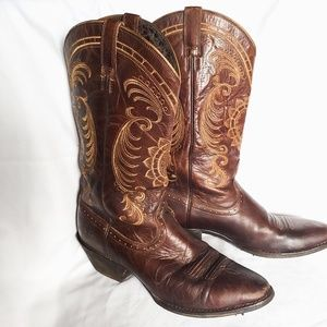 Ariat Magnolia Sunflower Leather Boots